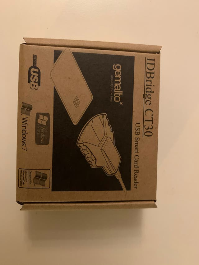 Lector tarjetas USB Bridge CT30