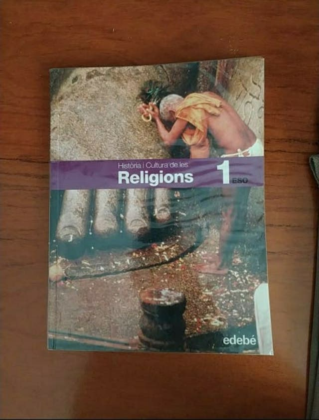1r ESO. Història i cultura de les religions