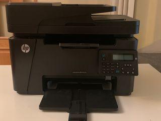 Impresora HP Láser Jet Pro M 127 fn