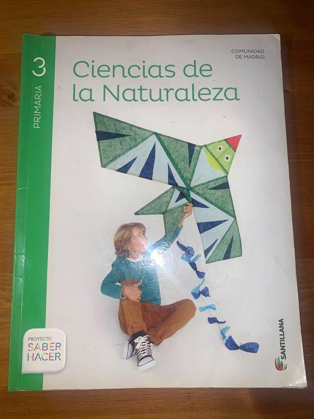 Ciencias de la naturaleza 3 de primaria.