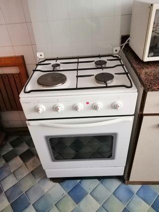 cocina gas y electrica