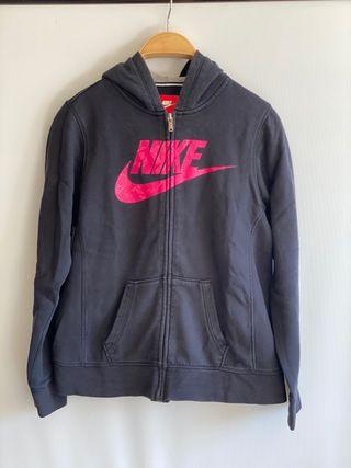 Chaqueta negra Nike niña