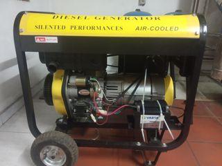 Grupo electrógeno diesel trifásico 380-12 Vdc