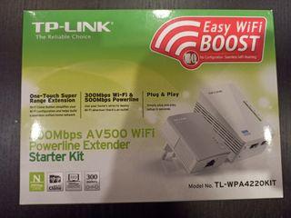 Kit extensor WiFi y PLC tp-link AV500