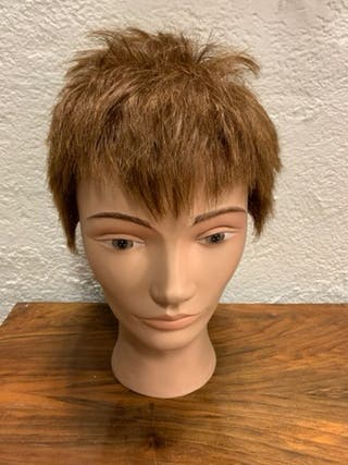 Cabeza de maniquí de peluquería