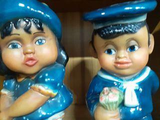 muñecos cerámica