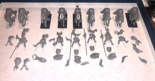 Pack de warhammer bretonia caballeros
