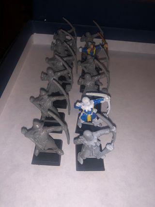 Pack de arqueros warhammer bretonia