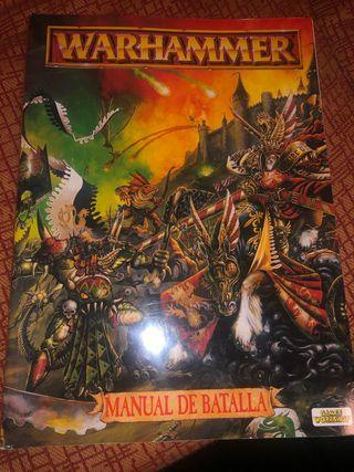 Libro de warhammer juego antiguo