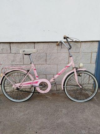 bici años 80 plegable.