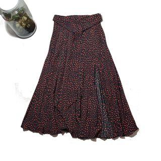 Topshop/Maxi-Falda plisada estampada T:34
