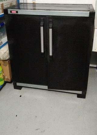 Armario de exterior resina y aluminio