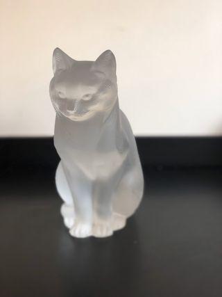 Antigüedad: Gato Lalique años 50