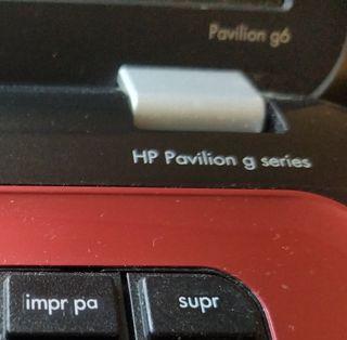 Portátil HP Pavilion G6