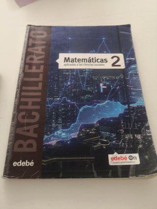 Libro Matemáticas Aplicadas 2 bachillerato