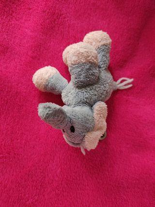 llavero peluche elefante