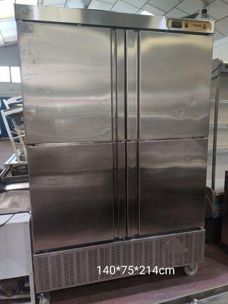 armario refrigerado 4 puertas