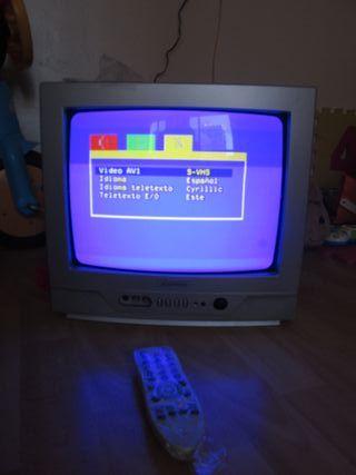 Televisión 14'' pulgadas