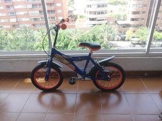 """Bicicleta Invizimals 14"""" para niños (3-5 años)"""