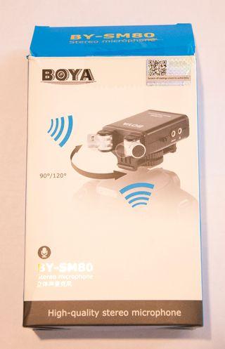 Micrófono BOYA BY-SM80