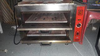 Horno profesional para pizzas o pan