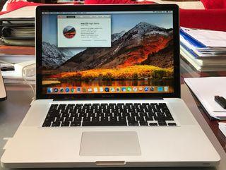 Mac Book pro 15 pulgadas 2010