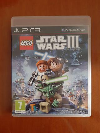 Juego Lego Star Wars III The clone wars Ps3