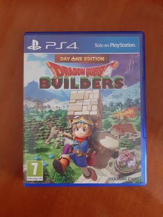 Juego Dragon Quest Builders PS4