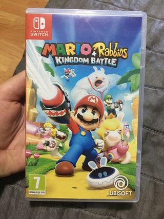 Mario and rabbids nintendo switch