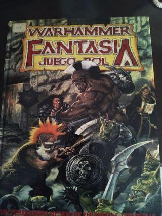 warhammer Fantasia juego de rol