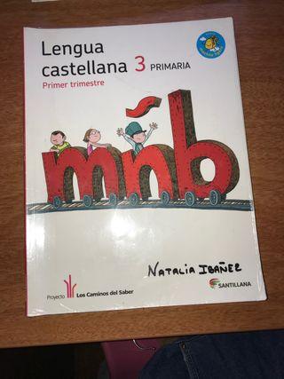 Libros lengua castellana 3 de primaria