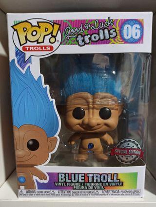 Funko pop! Blue Troll 06 Special Edition