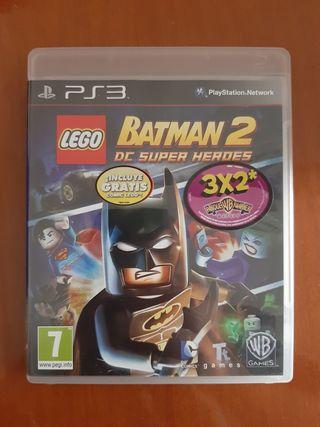 Juego Lego Batman 2 DC Super Héroes Ps3