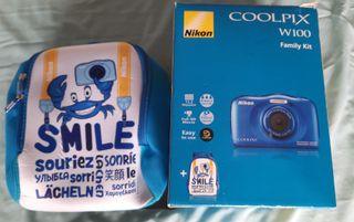 cámara fotográfica acuatica