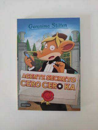 Libro Agente secreto cero cero ka