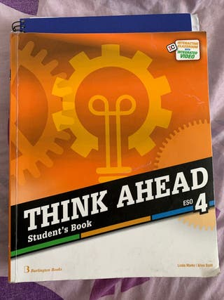 Think ahead 4 ESO Students book and workbook