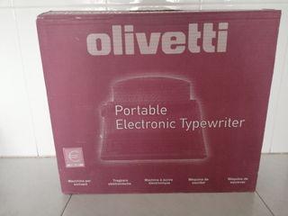 Máquina de escribir Olivetti eléctrica