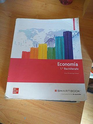 Libro primero bachiller economía smartbook