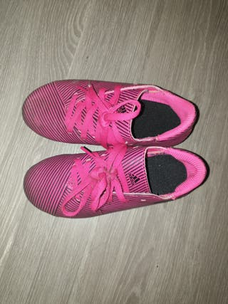 botas futbol talla 30
