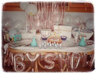 Decoración baby shower, Candy bar