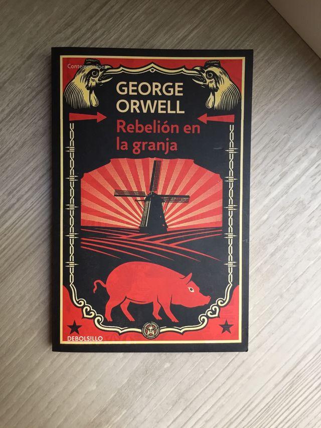 """""""Rebelión en la granja"""" George Orwell"""