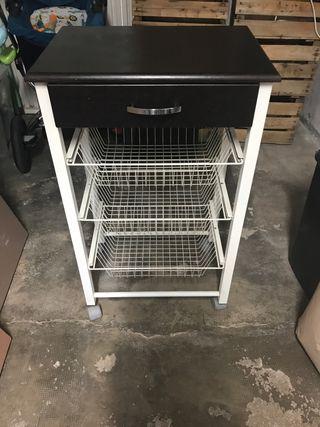 Mesa auxiliar para cocina