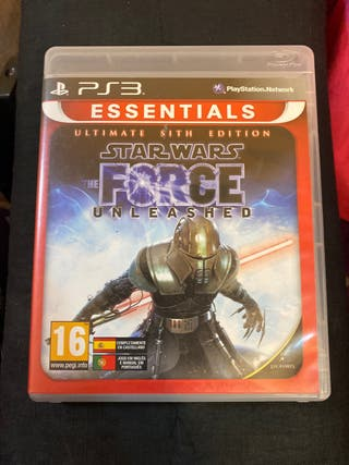 STAR WARS THE FORCÉ UNLEASHED PS3