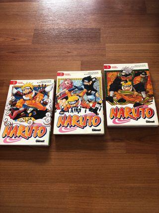 Cómics Naruto en perfecto estado 1-3