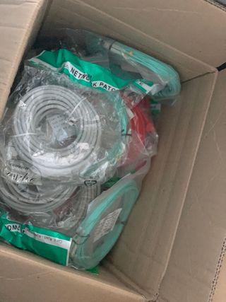 Cables de red y Fibra Optica