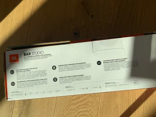 JBL soundbar (new/sealed full package)
