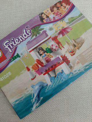 Salvavidas y Delfin. LEGO Friends