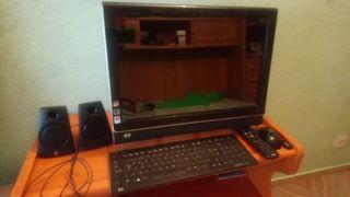 ordenador pantalla gigante táctil hp