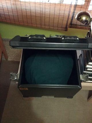 top case metalico