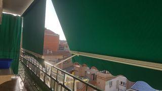Toldo verde 3 metros nuevo